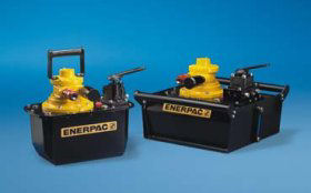 The Enerpac ZA4 – The Next Generation in Air Powered Hydraulic Pumps
