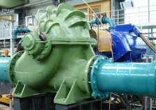 Neues Leben für alte Pumpe