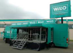 Wilo Truck begeistert auch in Hof