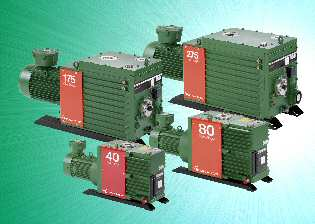 New Compact ATEX-Compliant Rotary Vane Pumps