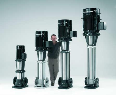 CR-Inline-Pumpen fördern bis zu 180 m³/h