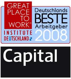 """Grundfos ist einer von """"Deutschlands Besten Arbeitgebern 2008"""""""