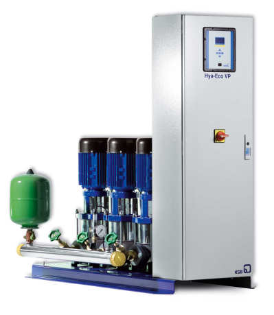 New Pressure Boosting Units