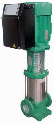 Programm bei elektronisch geregelten Hochdruckkreiselpumpen erweitert