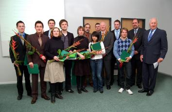 Wilo Stiftung: Förderpreise für Gebäudeenergietechnik übergeben