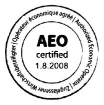 Bornemann Certified as an Authorized Economic Operator (AEO)