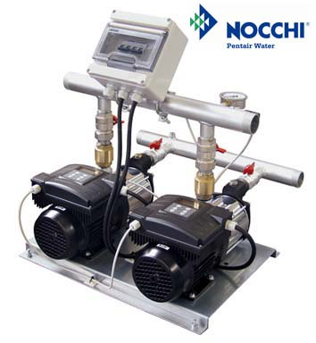 Nocchi Pentair Water Presents CPS 20 Variable Speed Booster Systems