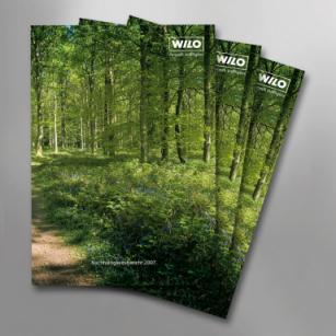 Neuer Nachhaltigkeitsbericht von Wilo