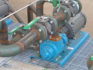 Tank Farm Running at Full Capacity Utilizing Blackmer GX Series Pumps