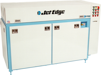 Jet Edge's 90,000 psi X-Stream Waterjet Pump Increases Productivity