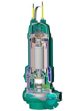 Leistungsfähige Tauchmotorpumpen für industrielle Kühlprozesse