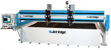 Jet Edge Introduces New Large Format Waterjet Cutting Machine