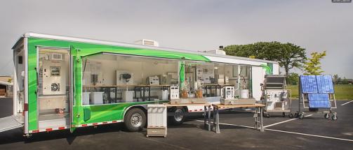 HVAC Mobile Green Classroom Cruises Into 2009 AHR Expo