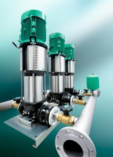 Besonders effiziente und wirtschaftliche Druckerhöhungsanlagen
