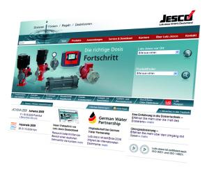 New Internet Appearance of Lutz-Jesco Germany