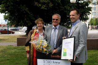 Emotron Has Received the Helsingborg Environmental Prize