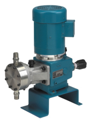Neptune Offers Alternative Power Sources for Its Chemical Metering Pumps