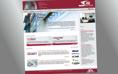 VSX Website Captivates With New Design