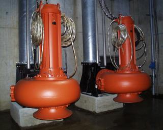 Leistungsstarke Pumpentechnik von Wilo für optimalen Hochwasserschutz