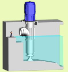 Huge Cooling Water Pump for Saudi Arabia