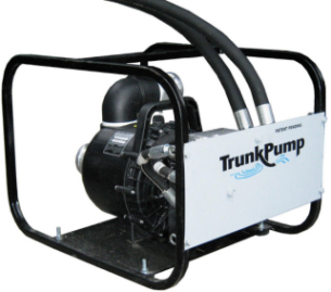 TrunkPump Introduces New Skid Steer Hydraulic Dewatering Attachment