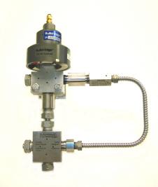 Waterjet Dual Pressure Valve
