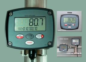 Flow Rate Totaliser Simplifies the Sums