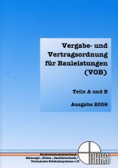 BHKS gibt Sonderdruck zur VOB 2009 heraus