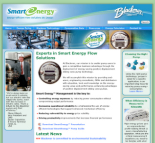 Blackmer Launches New Web Site Dedicated to Smart Energy Initiative