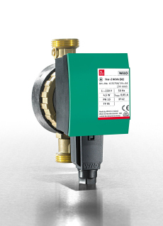 Highly Efficient Secondary Hot Water Circulation Pumps