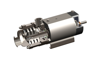 Hygienic Screw Spindle Pump Sets New Standards