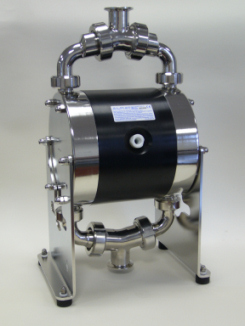 Almatec BIOCOR Series Feature Unique Diaphragms, Ball Valves and Air Control System