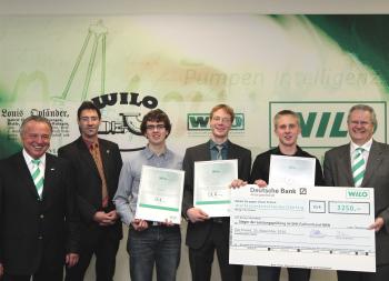 Beste SHK-Nachwuchskräfte 2010 ausgezeichnet