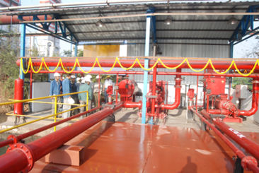 KBL Erects and Commissions FM/UL Approved Fire Hydrant System in Plate Mill Project