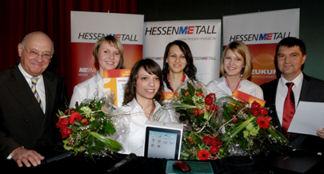 Pfeiffer Vacuum Apprentices Win Hessenmetall