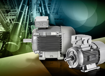 High-Efficiency Asynchronous Motors Available Throughout Efficiency Classes IE2 and IE3