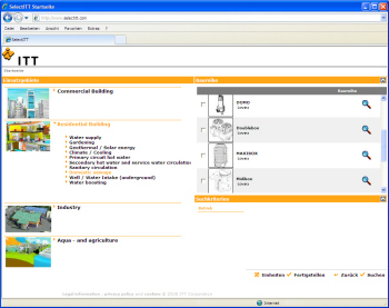 Pump Selection and Project Management Is Simplified with SelectITT