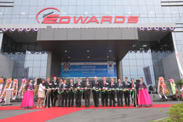 Edwards Opens Vacuum Factory in Cheonan