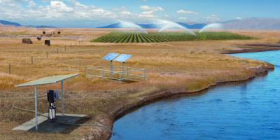 Grundfos MGFlex  – Maßgeschneiderter Antrieb für Solarpumpen CRFlex