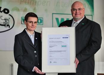 SCC-Zertifizierung für Wilo-Werkskundendienst