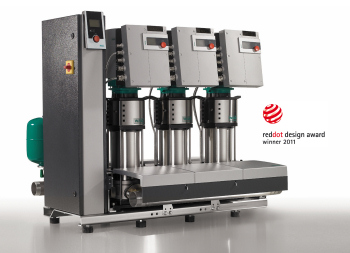 Design Award for Pressure Boosting System from Wilo