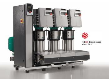 Designpreis für Wilo-Druckerhöhungsanlage
