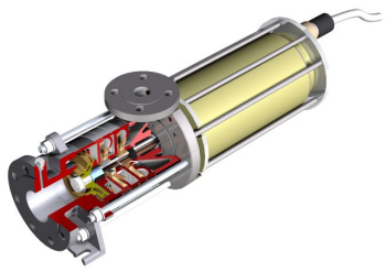 Refrigerant Pump with Canned Motor