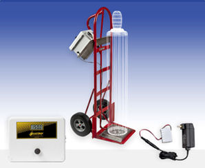 Cylinder Cart Scale Provides Chemical Weighing for Multiple Locations with One Scale