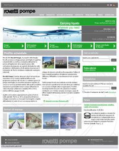 Rovatti Pompe Announced Launch of New Website