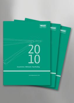 Wilo veröffentlicht Nachhaltigkeitsbericht 2010