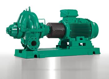 Effiziente und variantenreiche Baureihe bei axial geteilten Pumpen