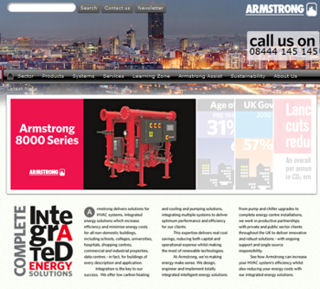 Armstrong Launches Dedicated UK Website