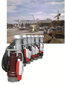 Söndgerath-Pumpen liefern Tauchmotorpumpen für Tunnelbau in Österreich
