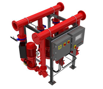 Armstrong 8000 Series Packaged Pump Solutions Speed the Way for Neasden Depot Refurb